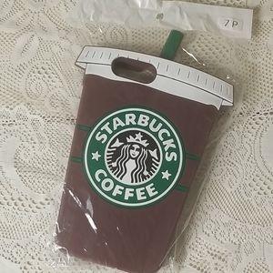 NWT! Starbucks iPhone 7 Plus Jelly Case Cute!